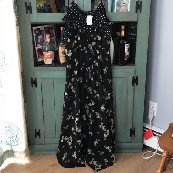 Maurices Dresses & Skirts - Maurice's XL NWT black floral dress